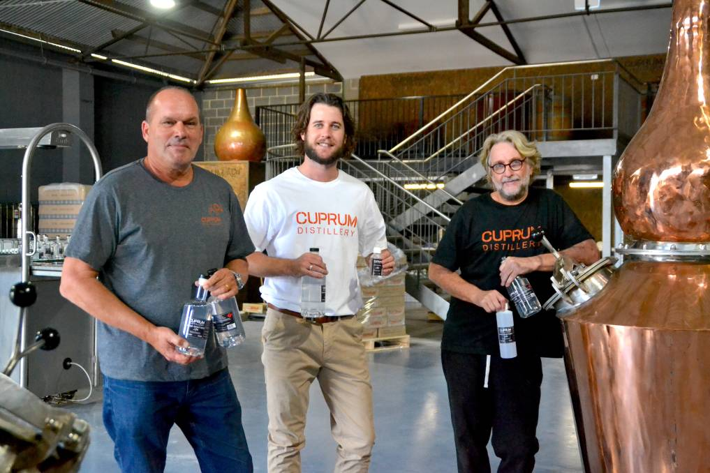 Cuprum Distillery, Bunbury WA founders